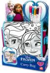 AS Company Disney hercegnők: Jégvarázs színezhető táska - jateknet