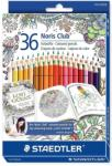 STAEDTLER Creioane colorate 36 culori/set STAEDTLER Adult Coloring Design