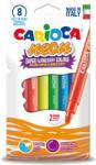CARIOCA Carioci fluorescente, 8 culori/set CARIOCA Neon