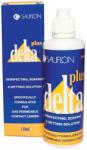 Sauflon Delta tároló (110 ml), kontaktlencse folyadék tokkal