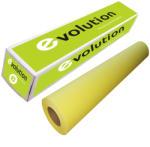 EVOLUTION Rola plotter galbena, A0+, 100 g/mp, 914 mm x 50 m EVOLUTION