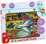 Playgo Járművek formapuzzle (01995-1)