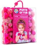 Bead Bazaar Bolyhos gombóc - rózsaszín