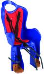 Syncromate Scaun copil Scaun Elibas 2 pentru copii Rosu-Albastru, prindere cadru Scaun bicicleta pentru copii