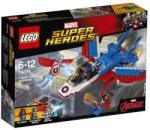 LEGO Super Heroes - Captain America Jet Pursuit (76076)