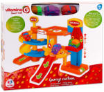 Globo Vitamina G Smart Fuel: műanyag parkolóház 3 autóval (MD-GL5061)