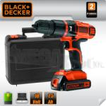 Black & Decker EGBL188KB Бормашина-винтоверт