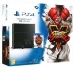 Sony PlayStation 4 Jet Black Ultimate Player Edition 1TB (PS4 1TB) + Street Fighter V Console