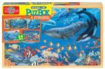 TS Élet az óceánban - 4 féle fa puzzle