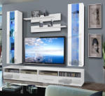 Clevo E2 magasfényű szekrénysor 4 színösszeállításban, led világítással