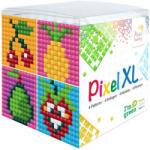 Pixelhobby Pixel XL készlet Gyümölcsök (4 kis alaplap 12 szín) Pixelhobby (PIXEL24105)