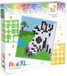 Pixelhobby Pixel XL készlet Zebra (12*12 cm alaplapos) Pixelhobby (PIXEL41032)