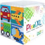 Pixelhobby Pixel XL készlet Autós (4 kis alaplap 12 szín) Pixelhobby (PIXEL24108)