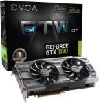 EVGA GeForce GTX 1080 FTW DT GAMING ACX 3.0 8GB GDDR5X 256bit PCIe (08G-P4-6284-KR) Videokártya