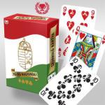 Cartamundi Hajrá magyarok! Szurkolói römikártya, arcfestő kártyával