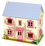 Bigjigs Toys Rózsaszín babaház (691621261019)