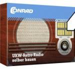 Conrad Components Retro rádió építőkészlet FM rádió Tru Components 10191
