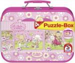 Schmidt Spiele Puzzle-Box 2x60 és 2x100 db-os - Lillebi puzzle box 4 kirakóval - Schmidt