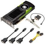 PNY Quadro M6000 12GB GDDR5 384bit PCIe (VCQM6000-PB) Видео карти