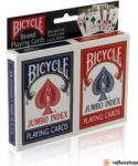 The United Stated Playing Card Company Bicycle Rider Back Jumbo indexes pókerkártya, dupla