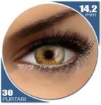 Phantasee Phantasee Natural Monthly Golden Brown -lentile de contact colorate caprui lunare - 30 purtari (2 lentile/cutie)