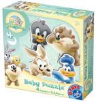 D-Toys D-Toys-Baby Looney Tunes Baba puzzle, Pasztellkék, 2, 3, 4 darab (5947502871828)
