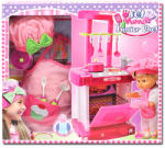Flair Toys Bambolina: Nena sztárkonyhája játékszett