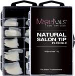 MarilyNails - Natural salon tip box - 100db - 10 méret