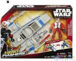 Hero Mashers Hero Mashers: Star Wars: Az Ébredő Erő - X-Szárnyú Vadász És Pilóta (Hasbro, B3701-X)