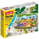 Quercetti Quercetti: Dzsungel csavaros Techno puzzle 33db-os