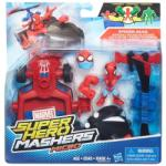 Marvel Super Hero Mashers Pókemeber figura járművel - Hasbro