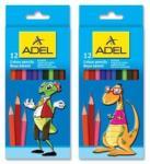ADEL Creioane colorate 12 buc/set, ADEL (AD2112315)