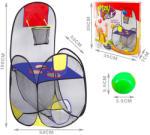 MK Toys Játszósátor kosárlabda palánkkal (VE-MK3038733)