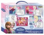 LICENCE Puzzle Színezhető Kétoldalas 45db-os 30x40 Cm Frozen
