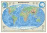 Nyír-Karta A Föld felszíne falitérkép, könyöklő Nyír-Karta 70x50 cm