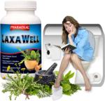 Pharmekal LaxaWell - Bélműködést serkentő gyógynövény komplex kapszula - 60 db