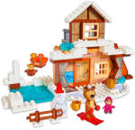 Smoby Play Big Bloxx: Casa de iarnă a lui Masha (ST-800057100)