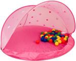 Paradiso Toys Rózsaszín játszósátor, 50 színes labdával (P2827)