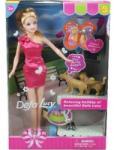 DEFA Lucy baba fésülhető és öltöztethető kiegészítőkkel
