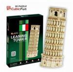 Puzzle 3D Puzzle Pisa Tower 9 x 9 x 23 cm - kis méret