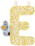 """Lilliputiens E"""" betű - textil - Nicolas farkas"""