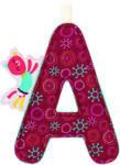 """Lilliputiens A"""" betű - textil - Colette cica"""