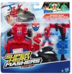 Marvel Super Hero Mashers 6 cm-es Figura és jármű