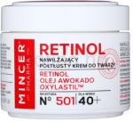 Mincer Pharma Retinol N° 500 hidratáló ránctalanító krém 40+ N° 501 (Retinol, Avocado Oil, Oxylastil) 50 ml
