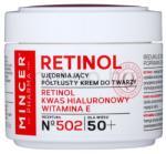 Mincer Pharma Retinol N° 500 feszesítő krém 50+ N° 502 (Retinol, Hyaluronic Acid, Vitamin E) 50 ml