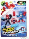 Hero Mashers Marvel Super Hero Mashers Micro Páros Figura Csomag - Amerika Kapitány És Vaskoponya (Hasbro, B6432-A)