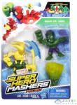 Hero Mashers Marvel Super Hero Mashers Micro Páros Figura Csomag - Hulk És Loki (Hasbro, B6432-H)