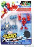 Hero Mashers Marvel Super Hero Mashers Micro Páros Figura Csomag - Pókember És Rhino (Hasbro, B6432-P)