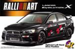 Aoshima Mitsubishi Lancer Evolution X Ralliart Version (1/24)