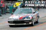 Aoshima - Nissan Dr30 Diesel Kiki P`Chiba Skyline (AO42830)